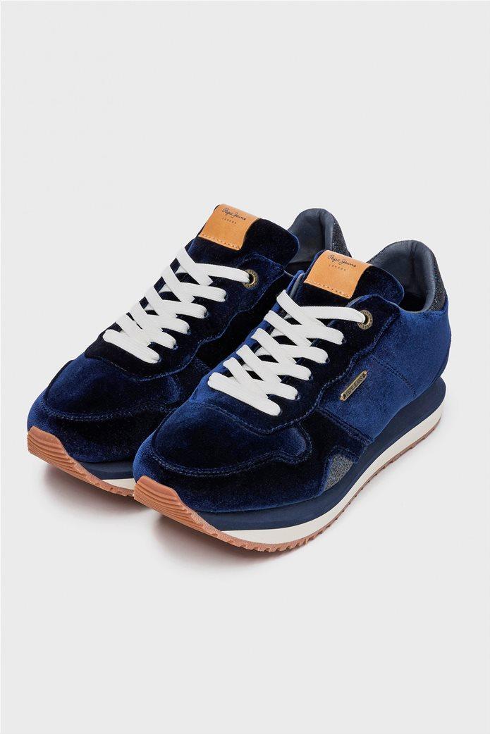 Pepe Jeans γυναικεία παπούτσια trainers Zion Velvet 2