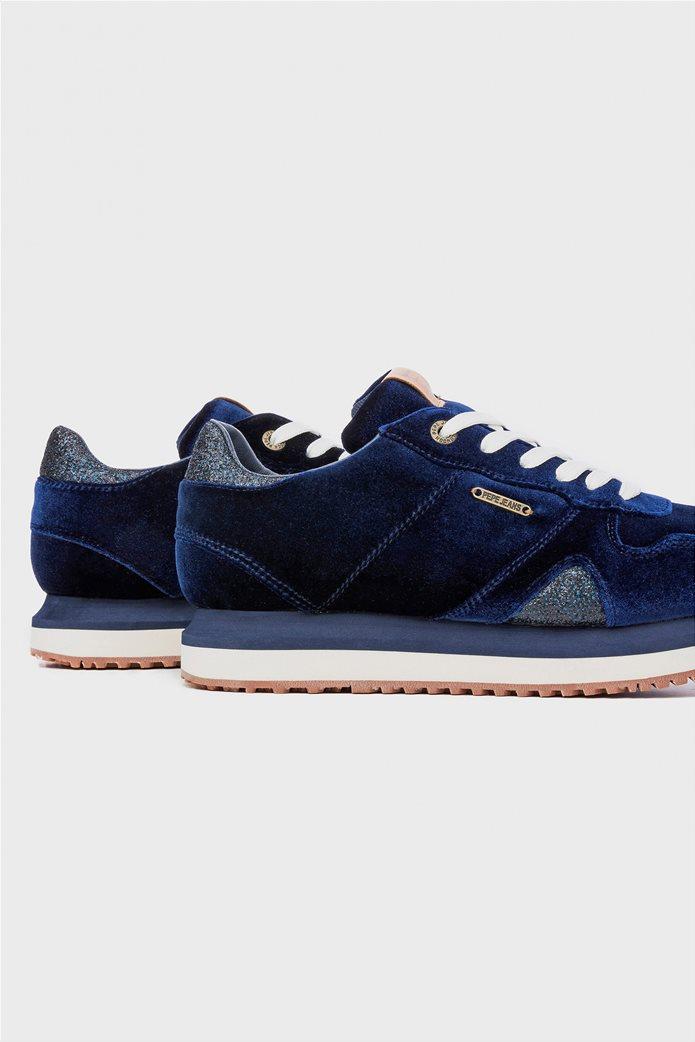 Pepe Jeans γυναικεία παπούτσια trainers Zion Velvet 3