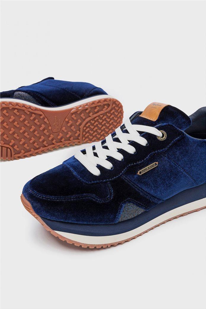 Pepe Jeans γυναικεία παπούτσια trainers Zion Velvet 4