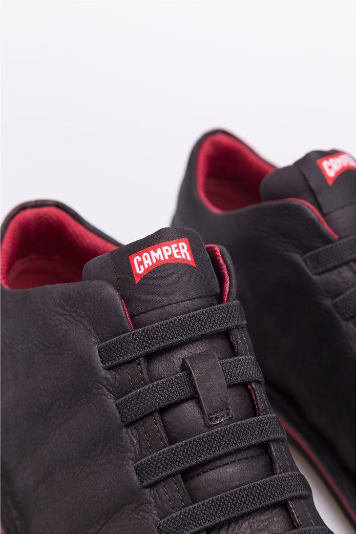 Camper ανδρικά παπούτσια μαύρα σουέτ Beetle 6