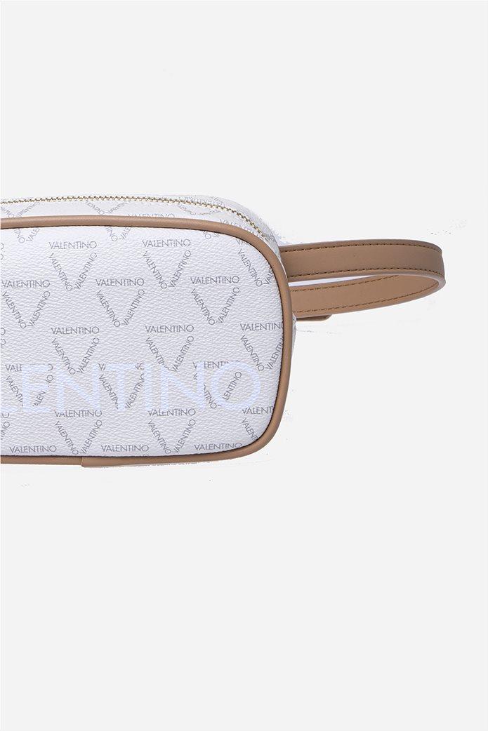 Valentino by Mario Valentino γυναικείο τσαντάκι μέσης με all-over logo print 3