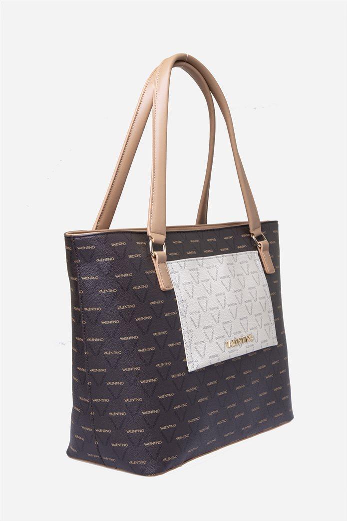 Valentino by Mario Valentino γυναικεία τσάντα χειρός με all-over print 2