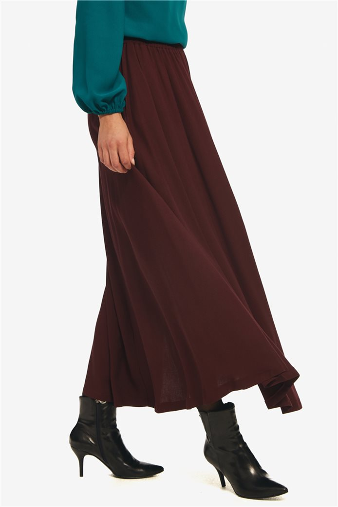Paul Christophe γυναικεία maxi φούστα μονόχρωμη 2