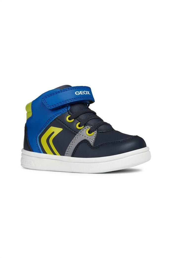 Geox βρεφικά sneakers μποτάκια Baby Djrock Boy 0