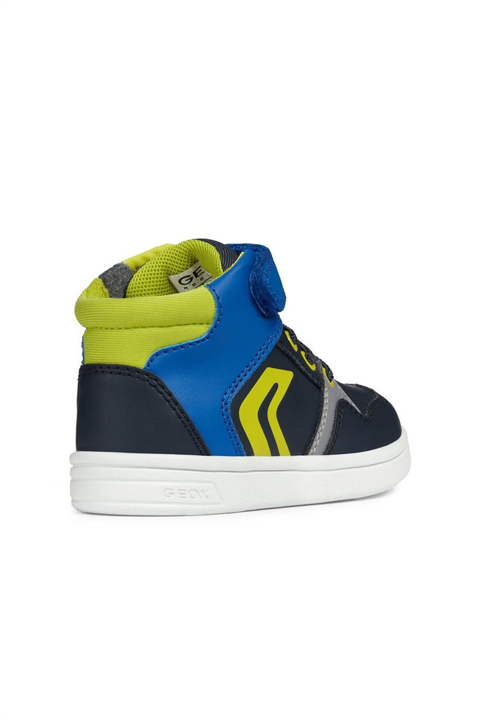 Geox βρεφικά sneakers μποτάκια Baby Djrock Boy 3