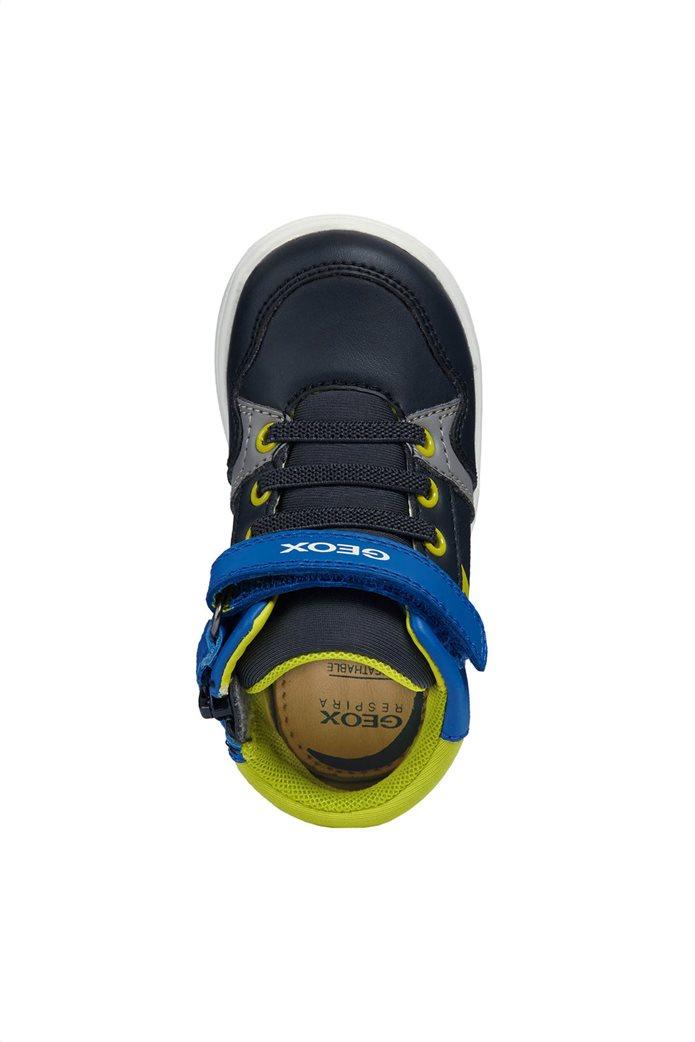 Geox βρεφικά sneakers μποτάκια Baby Djrock Boy 4