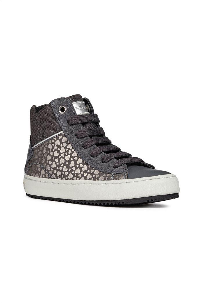 Geox παιδικά sneakers μποτάκια JR Kalispera 0