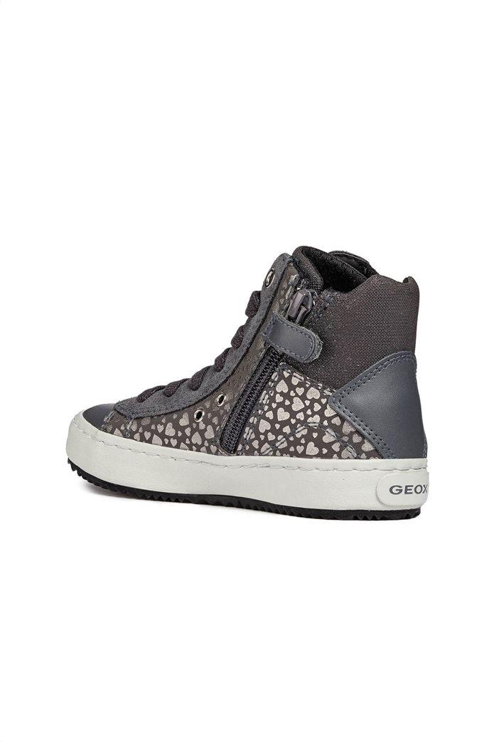 Geox παιδικά sneakers μποτάκια JR Kalispera 1