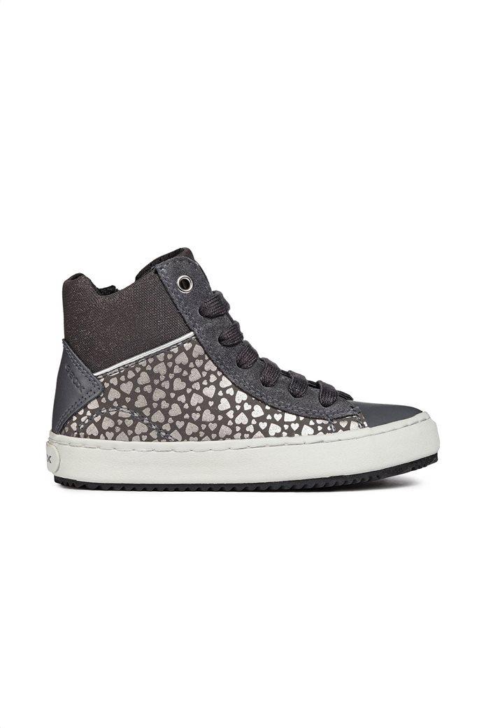 Geox παιδικά sneakers μποτάκια JR Kalispera 2