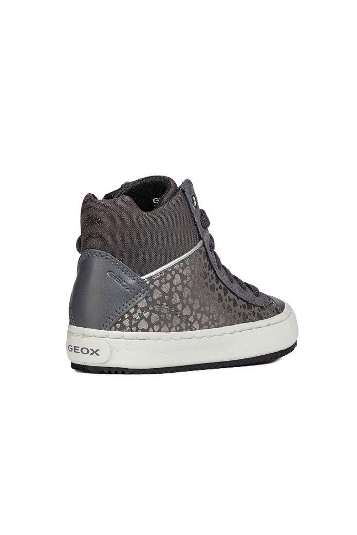Geox παιδικά sneakers μποτάκια JR Kalispera 3