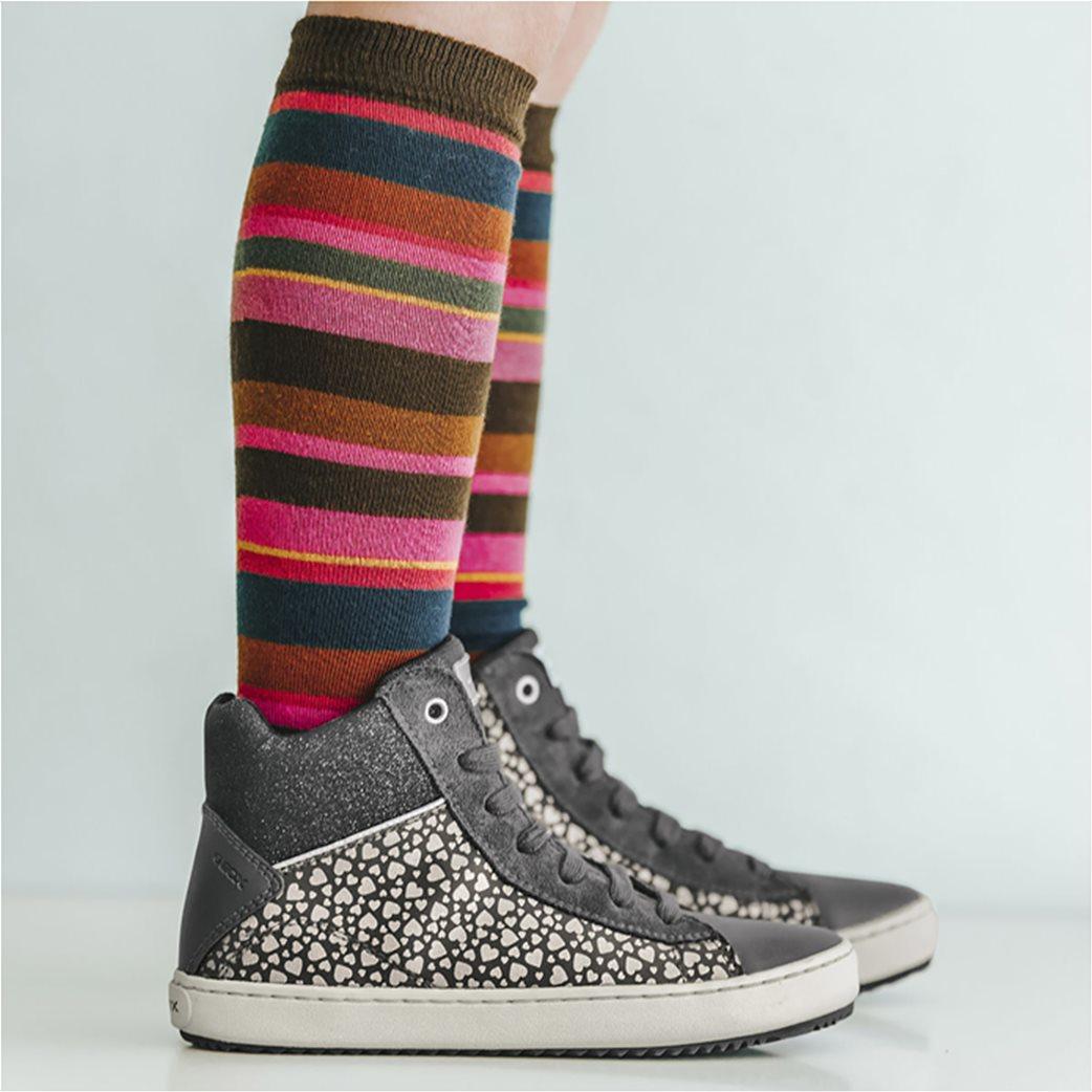 Geox παιδικά sneakers μποτάκια JR Kalispera 6