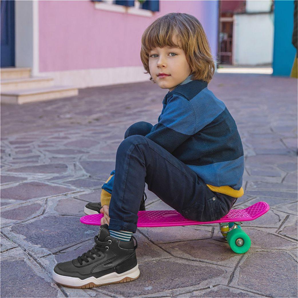 Geox παιδικά μποτάκια sneakers JR Perth 6
