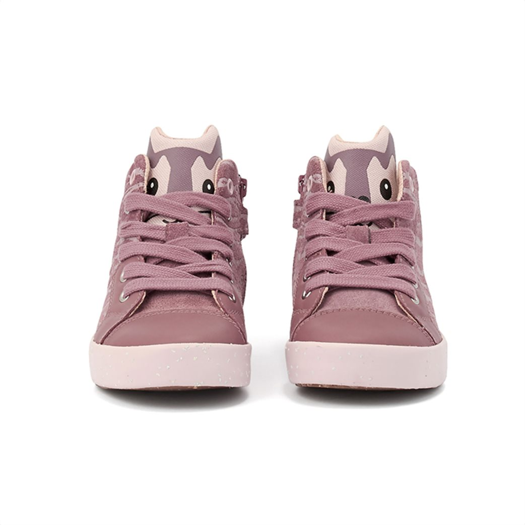 "Geox βρεφικά sneakers με print ζωάκι στη γλώσσα ""Kilwi"" 2"