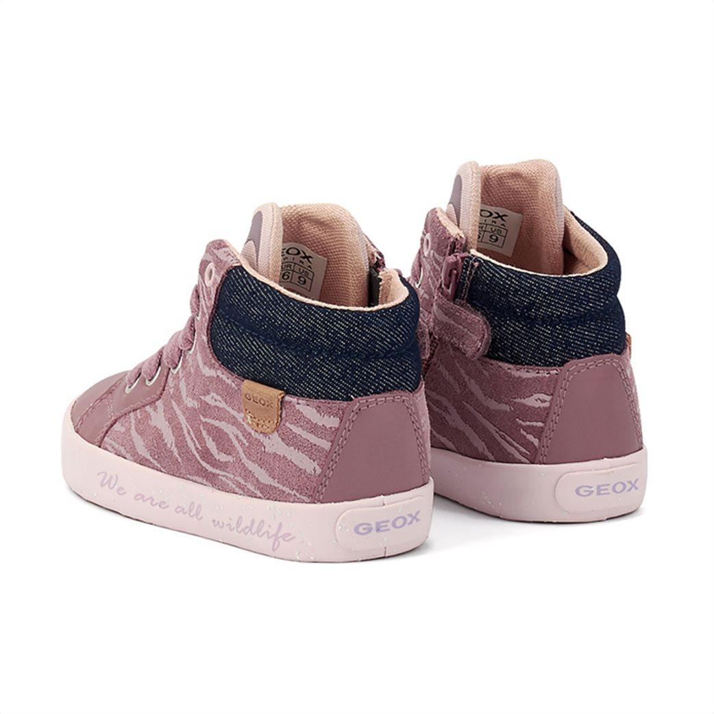 "Geox βρεφικά sneakers με print ζωάκι στη γλώσσα ""Kilwi"" 3"
