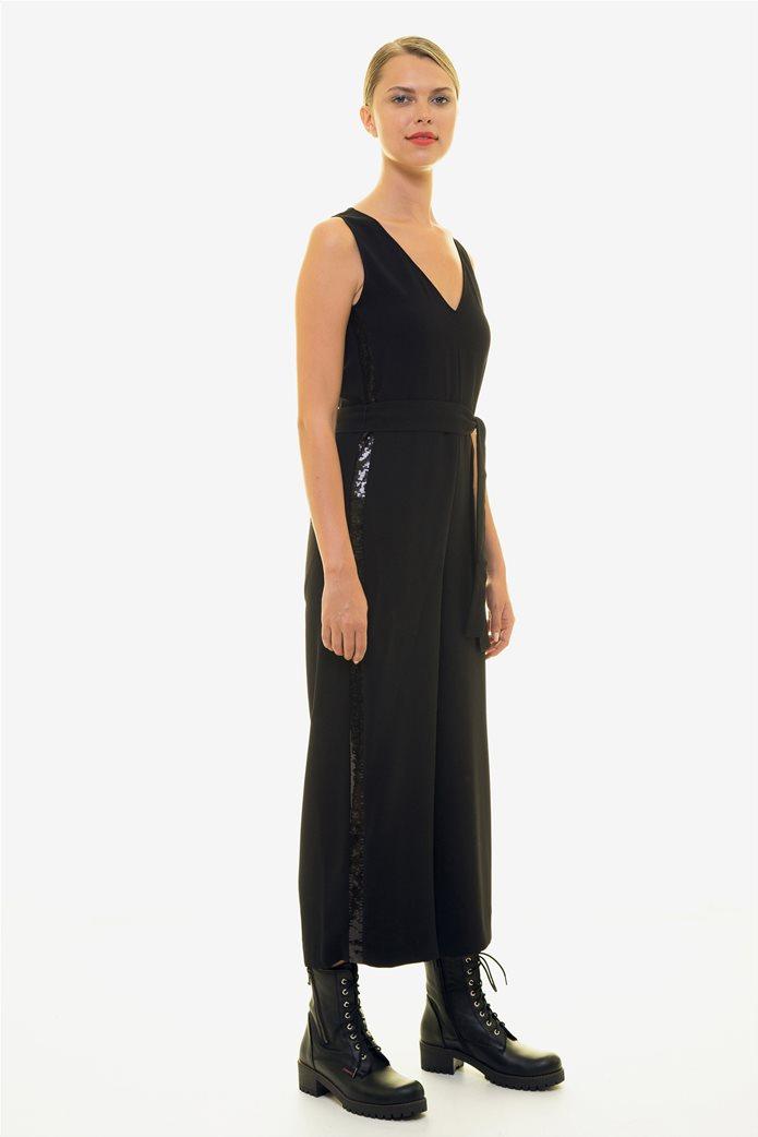 Emme by Marella γυναικεία ολόσωμη φόρμα με παγιέτα 2