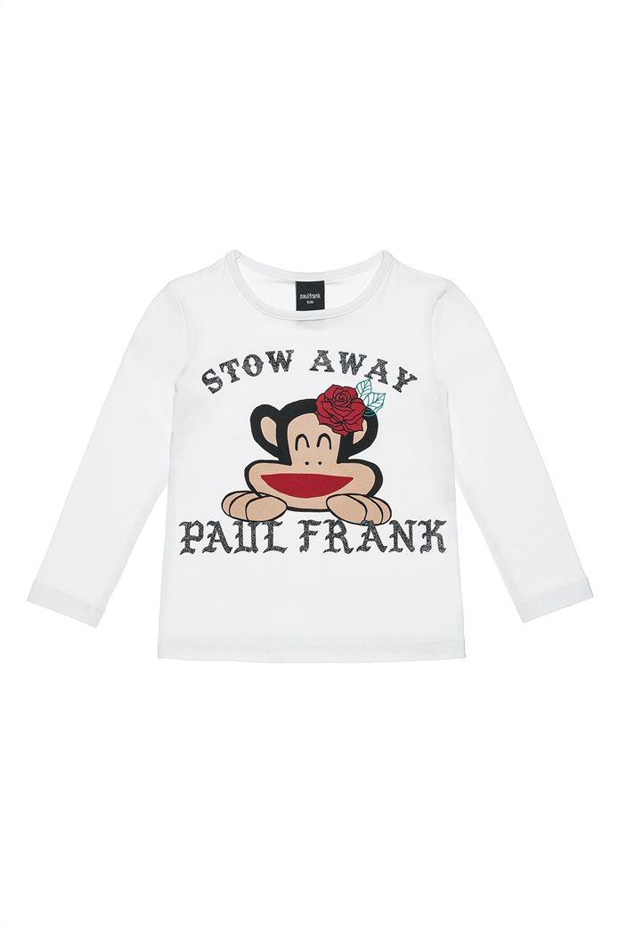 Alouette Paul Frank παιδική  μακρυμάνικη μπλούζα με glitter lettering (18 μηνών-5 ετών) 0