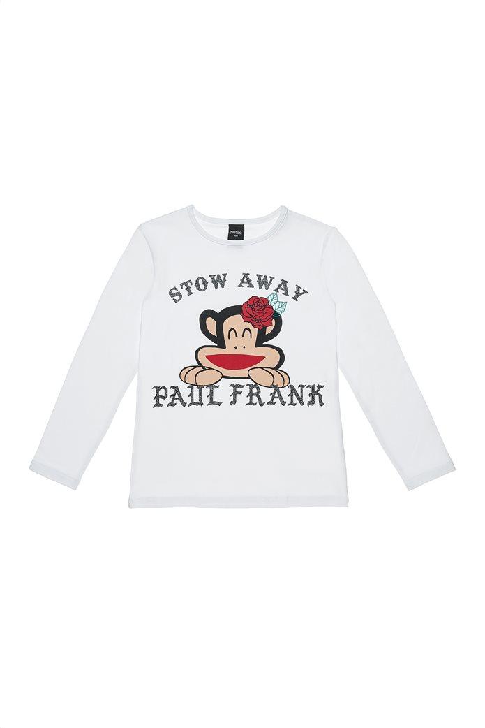 Alouette Paul Frank παιδική  μακρυμάνικη μπλούζα με glitter lettering (6-14 ετών) 0