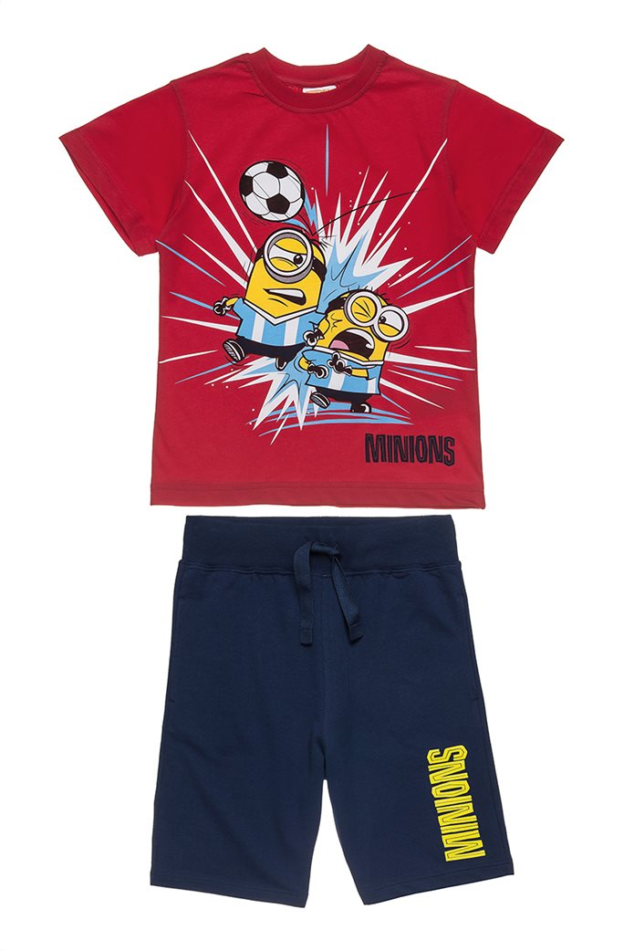 b8c0815bc9b Alouette παιδικό σετ T-shirt και βερμούδα με τύπωμα Minions (4-12 ετών