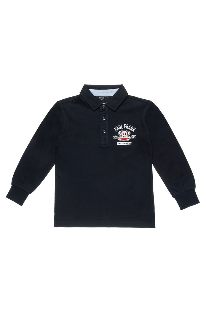 Alouette παιδική μακρυμάνικη μπλούζα polo με patch ''Paul Frank'' (6-14 ετών) 0