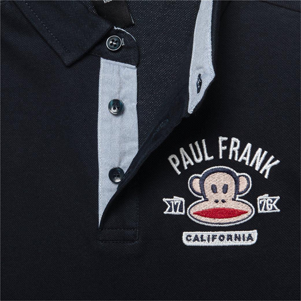 Alouette παιδική μακρυμάνικη μπλούζα polo με patch ''Paul Frank'' (6-14 ετών) 1