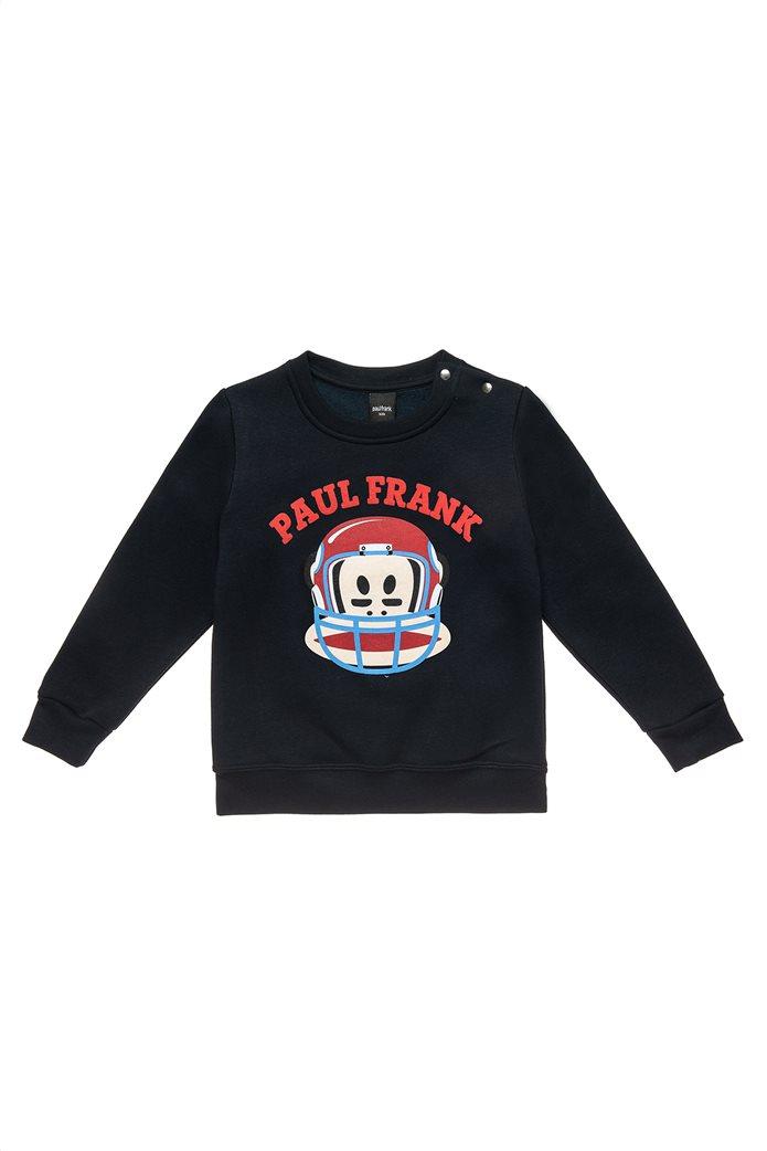"Alouette παιδικό φούτερ με ανάγλυφο print ""Paul Frank"" (12 μηνών-5 ετών) 0"