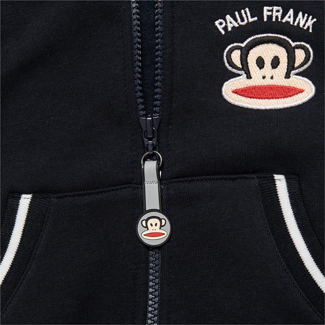 Αlouette παιδικό γιλέκο με κουκούλα και logo patch ''Paul Frank'' (12 μηνών-5 ετών) 2