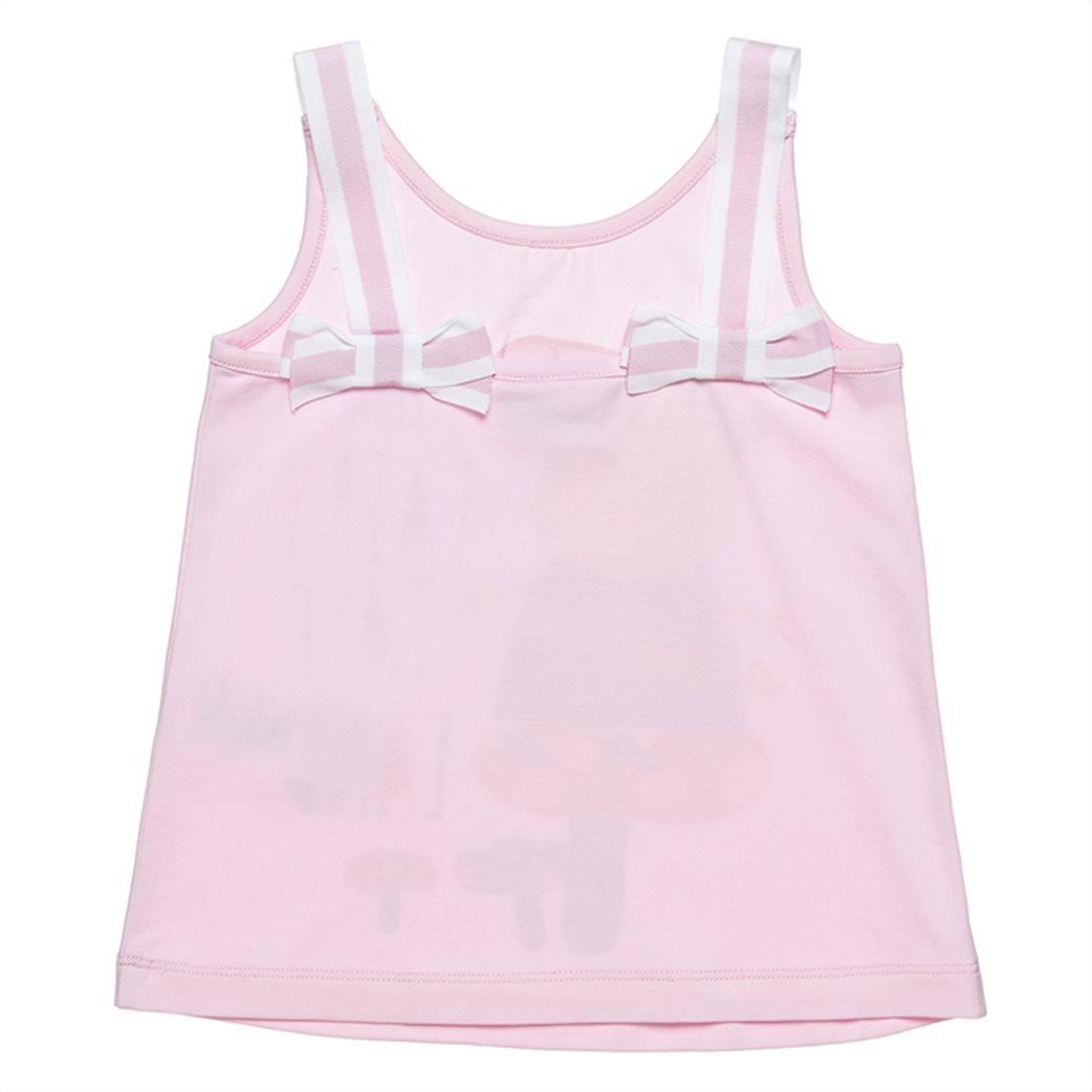 "Alouette παιδική μπλούζα αμάνικη με print και glitter ""Peppa Pig"" (2-5 ετών) 1"