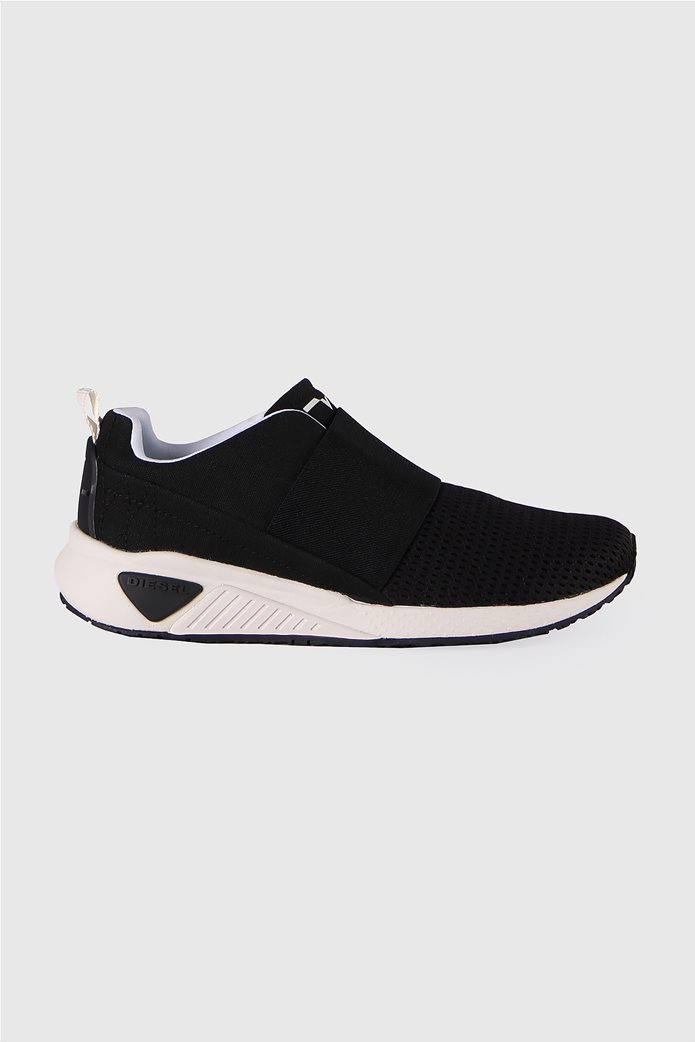2cbdca0e600 DIESEL | Diesel γυναικεία sneakers χωρίς κορδόνια s kb Εlastic Μαύρο | notos