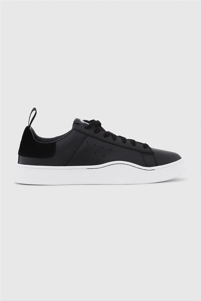 378b298361f DIESEL | Diesel γυναικεία sneakers με κορδόνια S Clever Low Μαύρο | notos