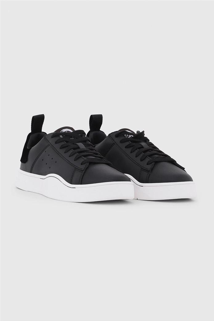 515d7442345 DIESEL | Diesel γυναικεία sneakers με κορδόνια S Clever Low Μαύρο ...