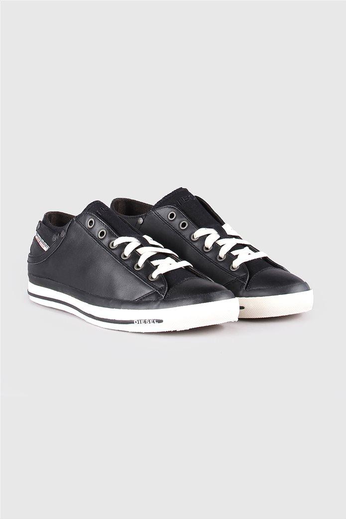 Diesel ανδρικά sneakers με κορδόνια Exposure low 2