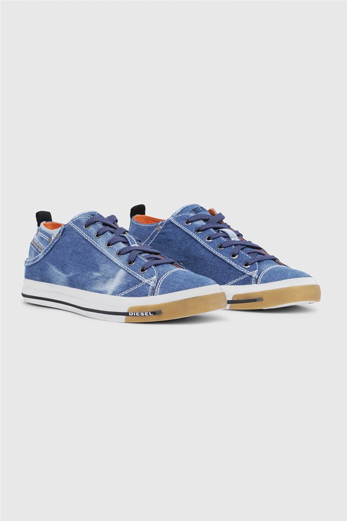 Diesel ανδρικά sneakers denim Exposure Low 2