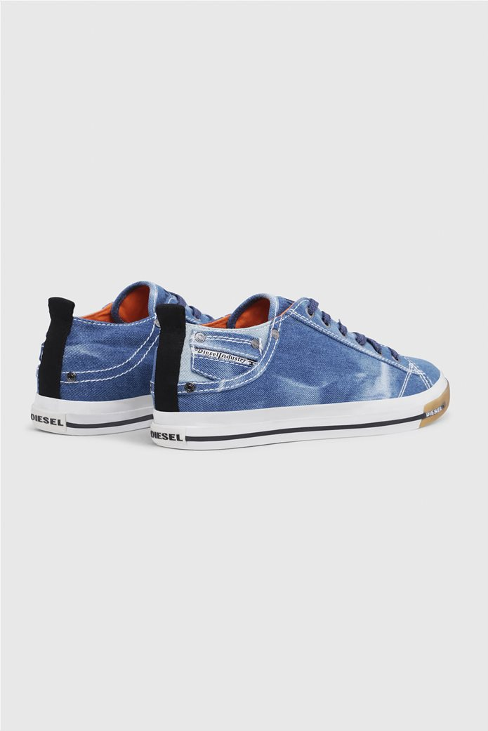 Diesel ανδρικά sneakers denim Exposure Low 3