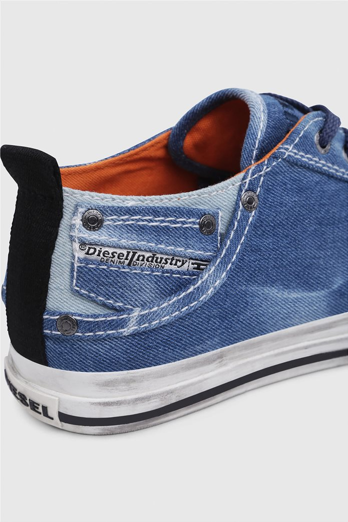 Diesel ανδρικά sneakers denim Exposure Low 4