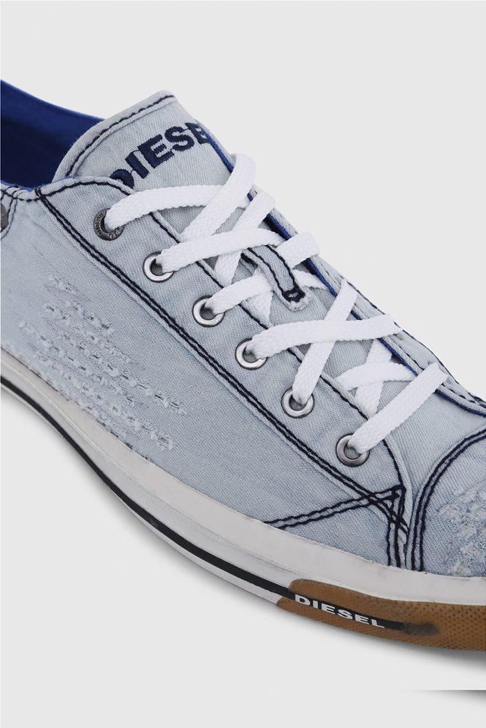 Diesel ανδρικά sneakers denim Exposure Low 1