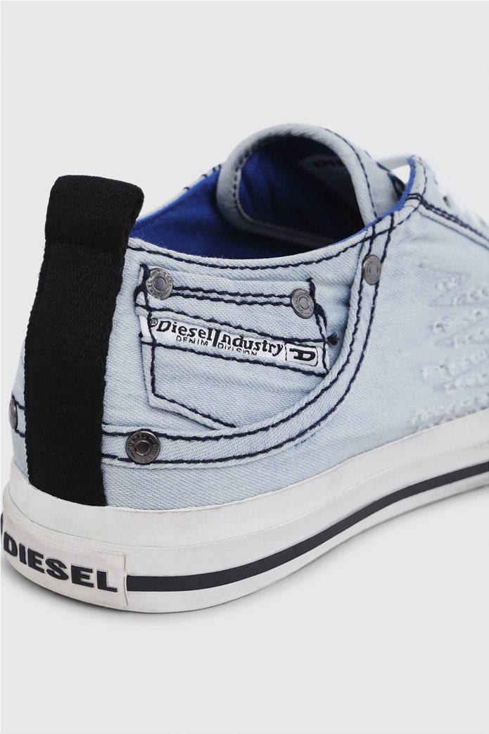 Diesel ανδρικά sneakers denim Exposure Low 4