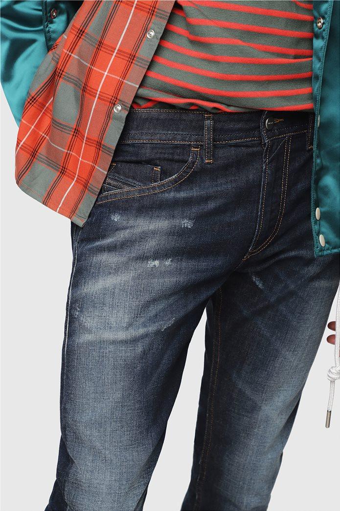 Diesel ανδρικό τζην παντελόνι με φθορές  Thommer (32L) 2