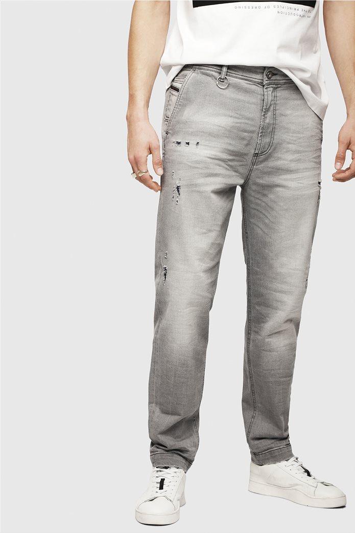 Diesel ανδρικό τζην παντελόνι chino με φθορές  Madox 2