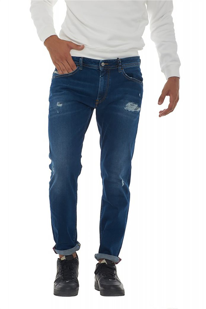 "Diesel ανδρικό τζην παντελόνι Straight fit με μικρές φθορές ""Thommer L32"" 0"