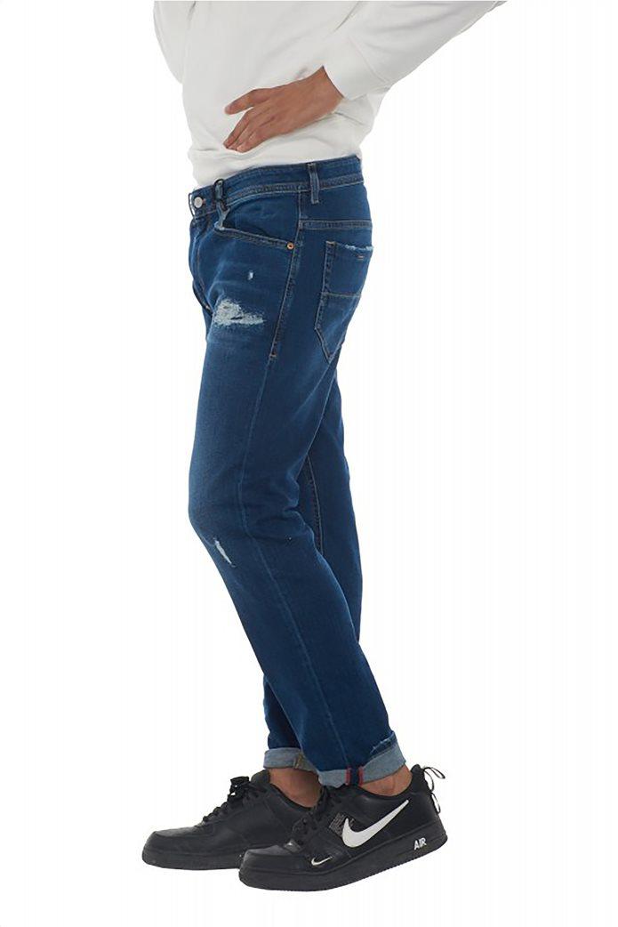 "Diesel ανδρικό τζην παντελόνι Straight fit με μικρές φθορές ""Thommer L32"" 1"