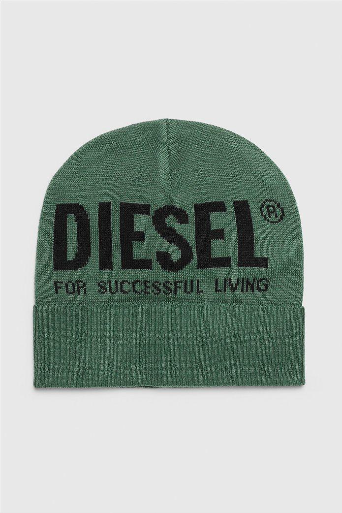 "Diesel unisex σκούφος με logo print ""K-BECKY-B"" 0"