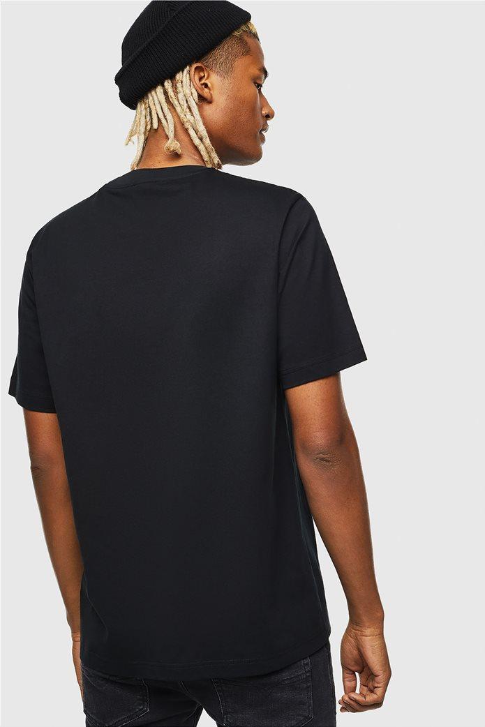 "Diesel ανδρικό T-shirt με letter print ""Τ-Just-J5"" 2"