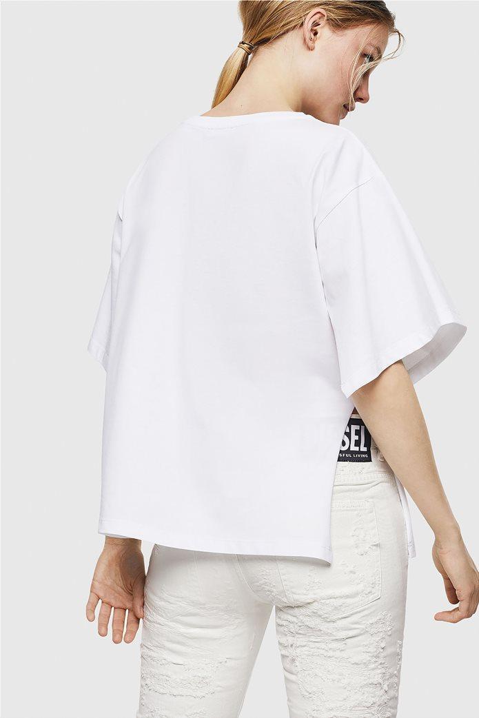 "Diesel γυναικείο T-shirt με logo print  ""Jacky-I"" 1"