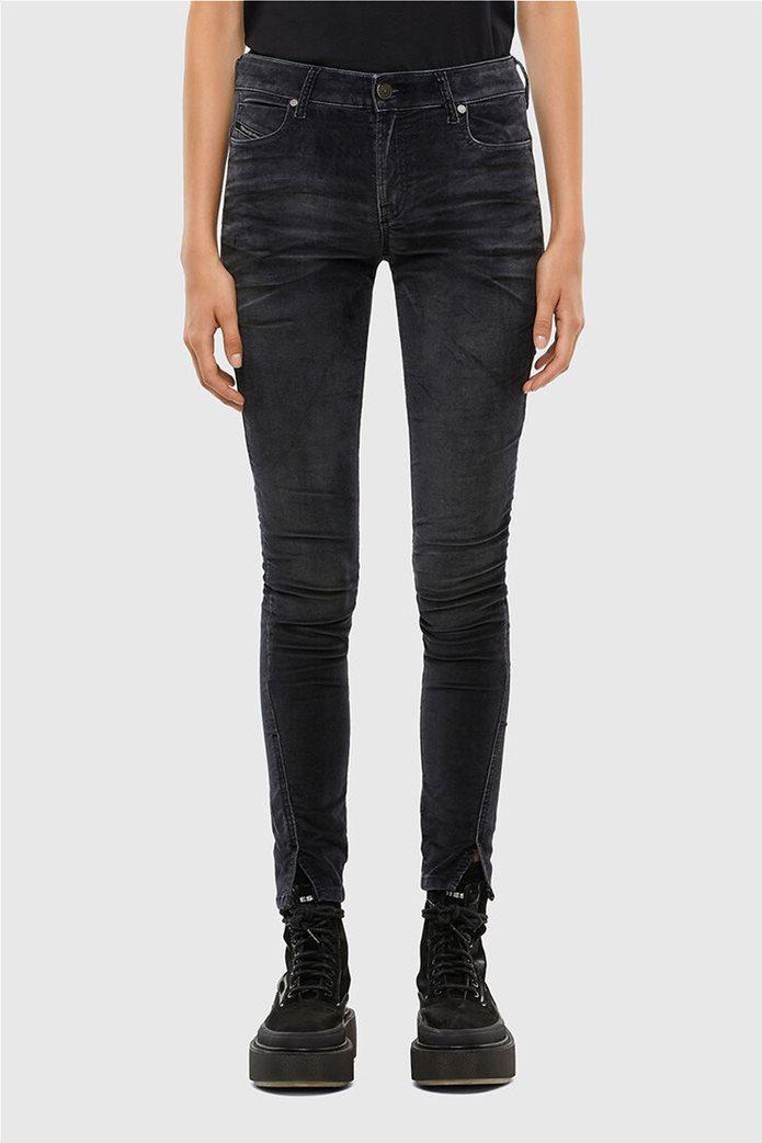 Diesel γυναικείο denim παντελόνι με βελούδινη υφή ''Jevel'' (30L) 0