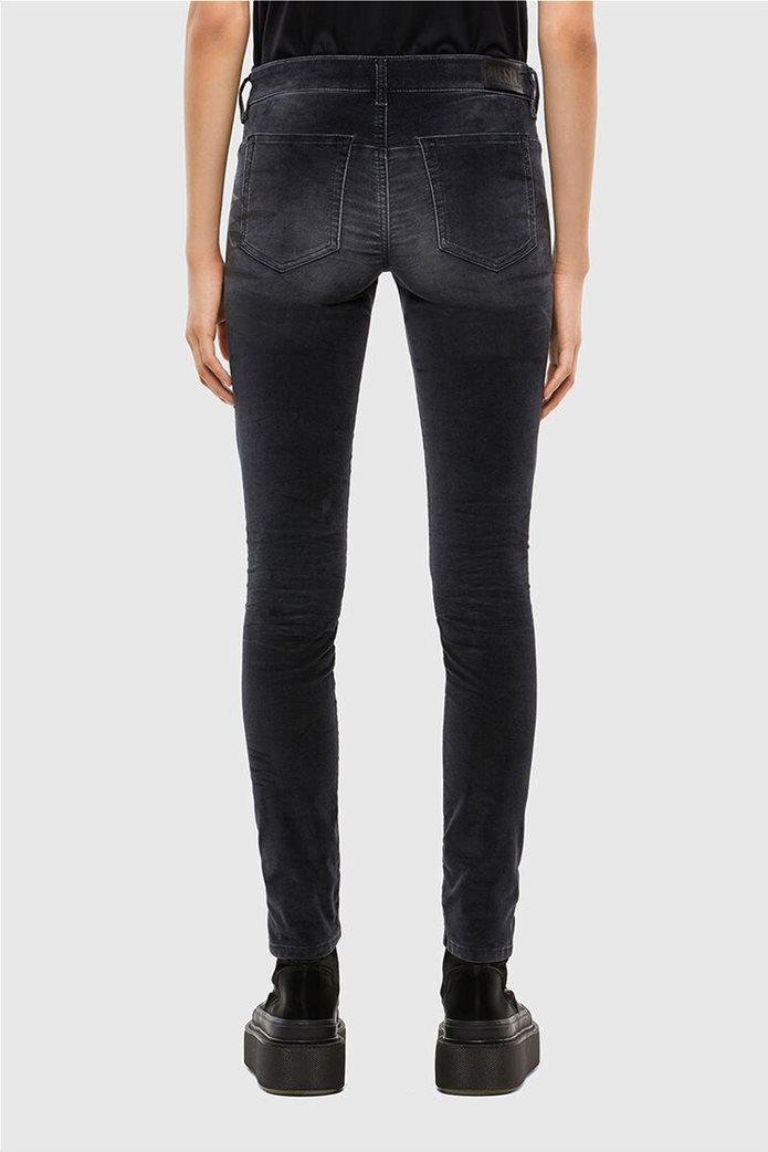 Diesel γυναικείο denim παντελόνι με βελούδινη υφή ''Jevel'' (30L) 1