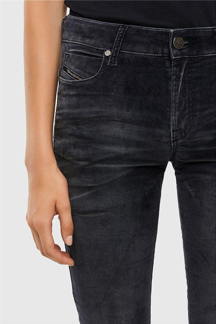 Diesel γυναικείο denim παντελόνι με βελούδινη υφή ''Jevel'' (30L) 2