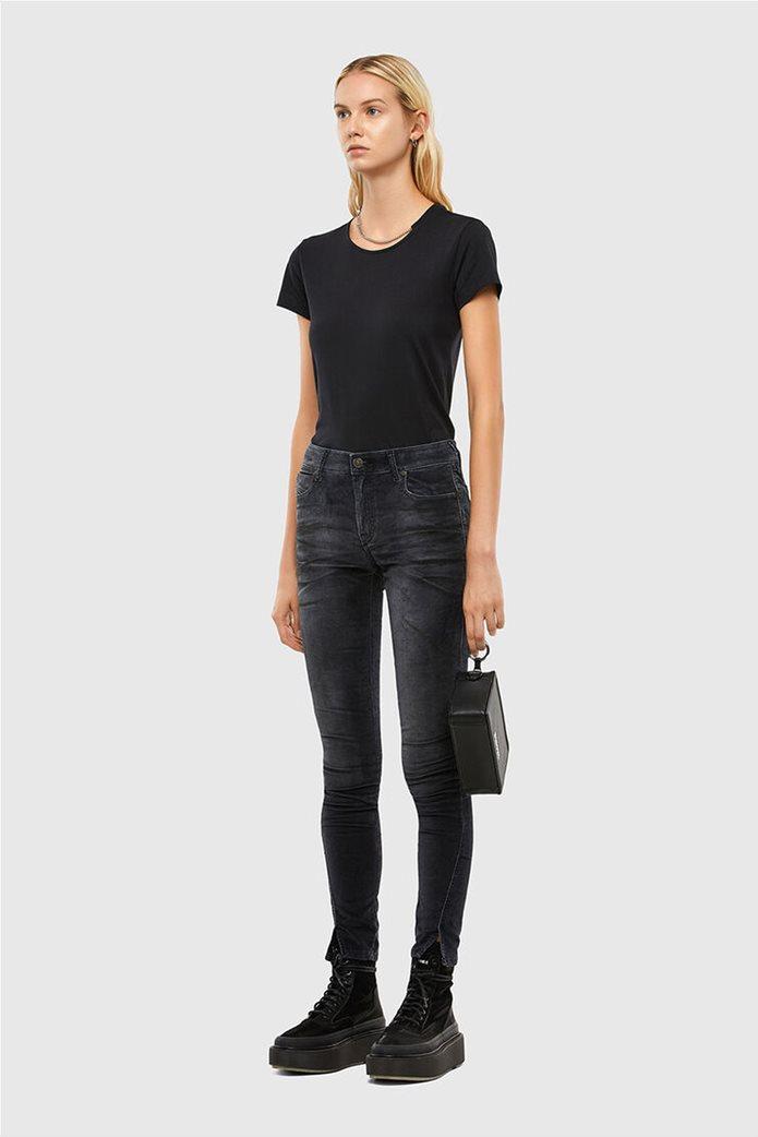 Diesel γυναικείο denim παντελόνι με βελούδινη υφή ''Jevel'' (30L) 4