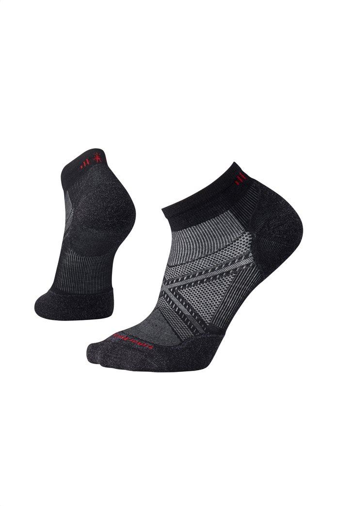 """Smartwool unisex κάλτσες """"PhD® Run Light Elite Low Cut"""" Μαυρο 0"""
