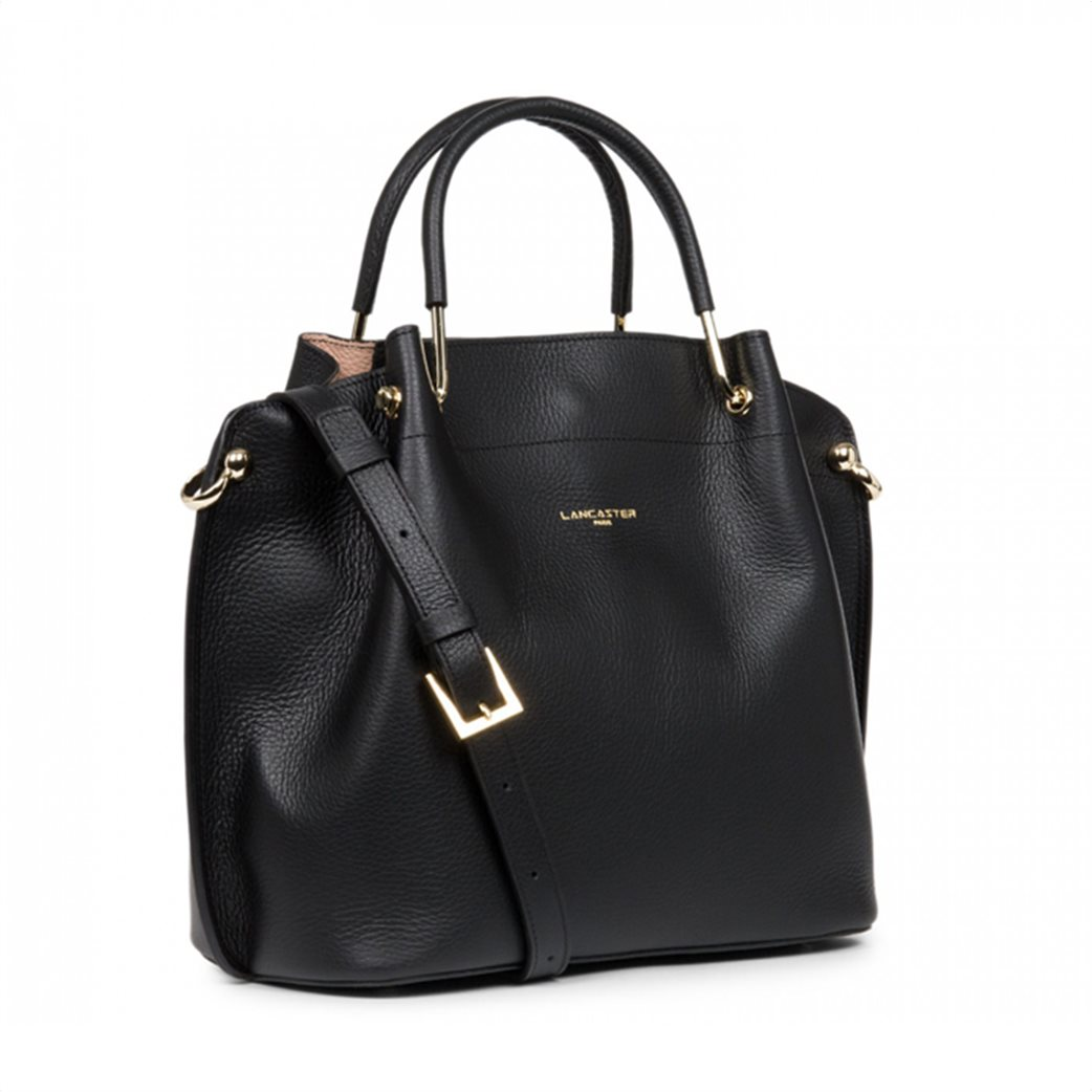 Lancaster γυναικεία τσάντα χειρός με μεταλλικές λεπτομέρειες 1