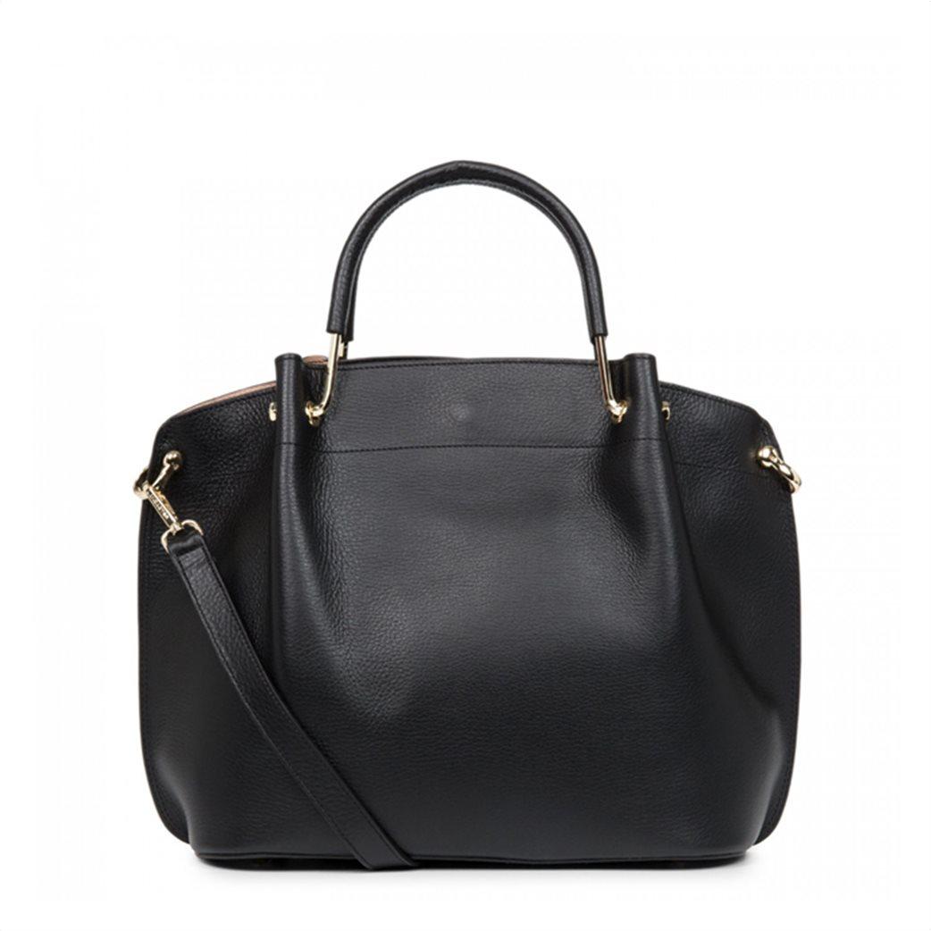 Lancaster γυναικεία τσάντα χειρός με μεταλλικές λεπτομέρειες 2